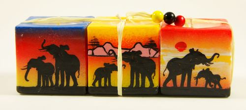 Mini Cube 3er Set / Geschenkset Swazi Art World